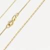 Złoty łańcuszek ANKIER 333 45cm